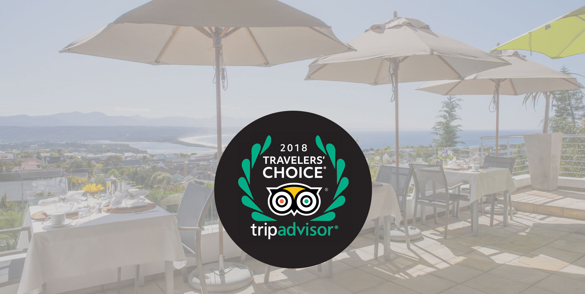 Proud Winner of 2017 & 2018 Trip Advisor Travelers' Choice Award
